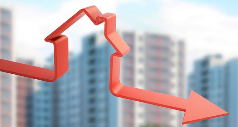 Схематичное обозначение понижающихся процентов в виде дома